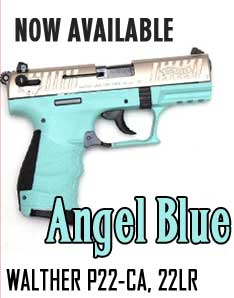 walther p22 angel blue  at Highland Guns